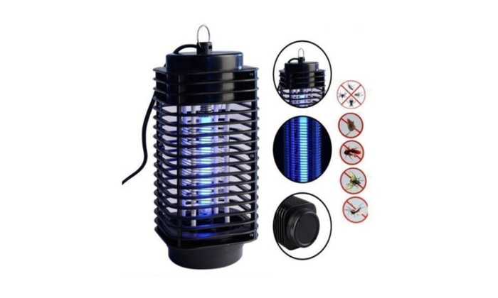 H31 110V Electric Mosquito Fly Bug Insect Zapper Killer + Trap Lamp