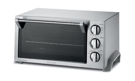 Delonghi EO1270 6-Slice Convection Toaster Oven (Stainless Steel) 5c0fb41a-0d20-4dfb-a543-b81784036c62