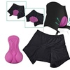 Zodaca Women Bicycle  Underwear Gel 3D Padded Short Pants US Stock M