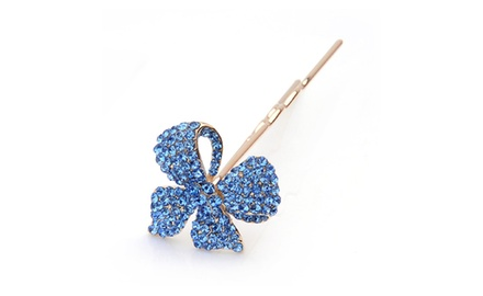 Hair Jewelry -- Clover Hairpin