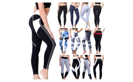 Women's Slim High Waist Leggings Yoga Pants b2e15d02-416c-41a9-8850-f70f03cf1c4f