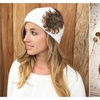 Feather Head Wrap - 4 Colors
