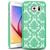 Insten Teal Lace Hard Rubberized Cover Case For Samsung Galaxy S6