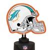 Neon Helmet Lamp-Dolphins
