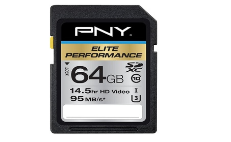 Elite Performance 64GB Flash Memory High Speed SDXC Class 10 UHS-I 98a0a9d7-4b45-4e87-8546-f350c477a85d