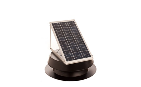 Solar Attic Fan 30 Watt Solar Panel With Thermal Switch 42e92d16-9fd6-40e8-a171-aa5d91e63293