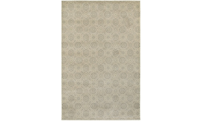 Monarch Ashland Beige Ivory Floral Area Rug Groupon