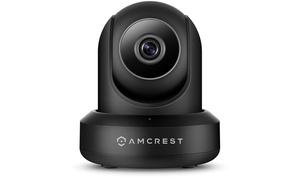 Amcrest WiFi Security Camera Indoor Pan/Tilt IP Camera Wireless, IPM-721B Black