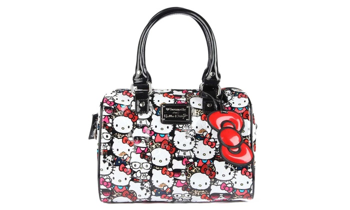 8f7d943b9 Loungefly Hello Kitty All Stars Embossed Mini City Bag | Groupon