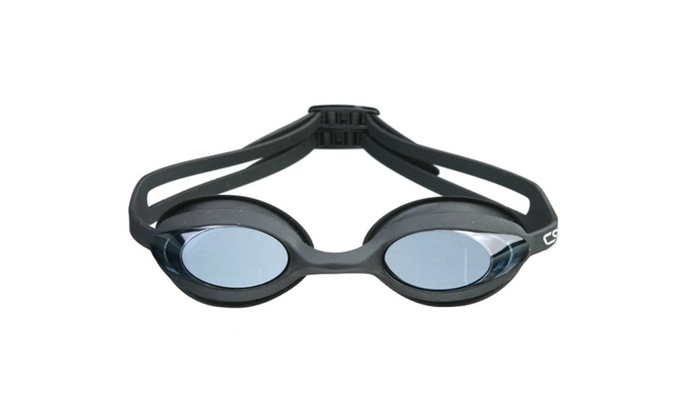 CRG Adult Fog Resistant Adjustable Swimming Goggles 6200AF-B