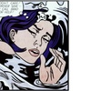 Drowning Girl by Roy Lichtenstein
