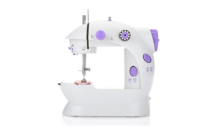Up To 40% Off On Home Electric Sewing Machine Groupon Goods Impressive Electric Sewing Machine