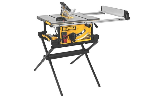 Table Saw 10in W Stnd Groupon