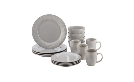 Rachael Ray Cucina Dinnerware 16-Piece Stoneware Dinnerware Set 2ccbdfe8-9676-40a7-9bda-64cb8a43d240