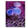 Patty Tuggle Blue and Pink Roses Canvas Print