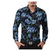 Men's Business Fashion Floral Long Sleeve Shirt