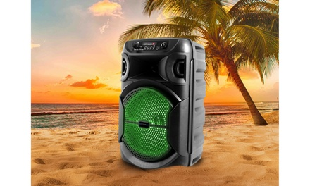 Technical Pro Portable Wireless Bluetooth Rechargeable Party Speaker