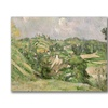 Paul Cezanne Auvers-sur-Oise Canvas Print