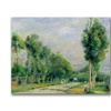 Pierre Renoir The Road to Versailles Canvas Print