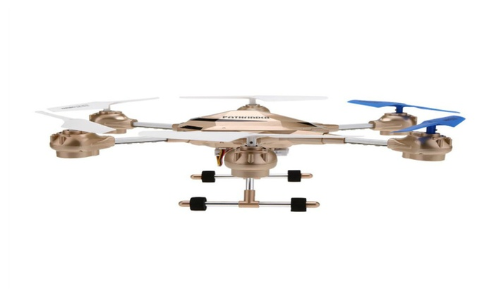 Drone Pathfinder 2 Hexacopter with 2MP HD Camera - (Gold)