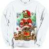 Noel Santa Teddy Bear and Toys Crewneck Sweatshirt