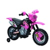 6V Battery Operated Motorbike Pink