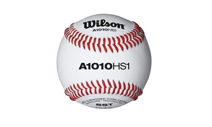 Wilson HS1 Baseball – SST 12 Pack