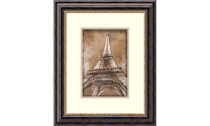Erin Clark Eiffel Tower Framed Art Print 18x22 In Groupon
