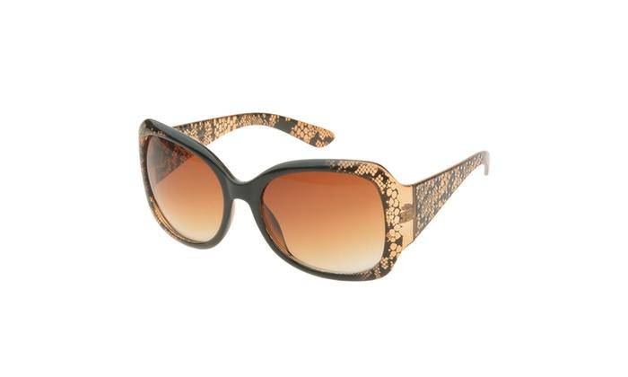 MLC Eyewear Black Lace Butterfly Fashion Sunglasses