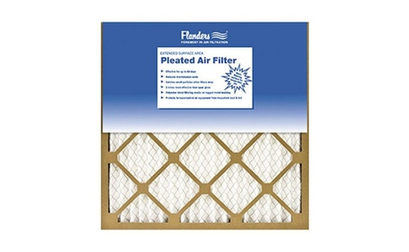 Flanders 81555.011425 14 x 25 in. Basic Pleated Air Filter Kraft Frame 97c97b81-23fa-4ded-a5cd-ca9e4ee719c6