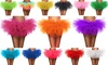 Women's Classic 5 Layered Tulle Tutu Skirt Ballerina Dress