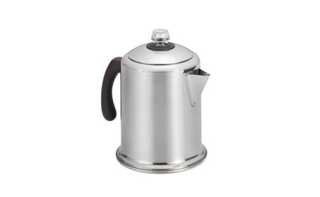 Farberware Classic Stainless Steel Yosemite 8-Cup Coffee Percolator 499ce0ba-fe9f-4e4b-a8c3-8bbbfb330ff7