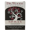 Dr. Woods Raw Black Facial Cleansing Bar - 5.25 OZ (Pack of 1)