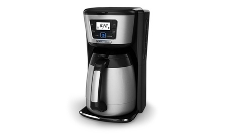 Classic Coffee Concepts Optimal Coffeemaker, Black & Brushed Silver photo