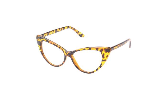 MLC Eyewear Embreeville Cat eye Sunglasses, Leopard