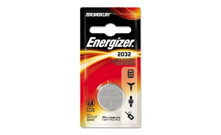 Energizer Watch/Electronic/Specialty Battery, 2032, 3 Volt (EVEECR2032BP)