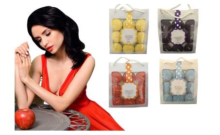 Scented Mega Tea Lights Aromatherapy Candles Set 18 Pcs