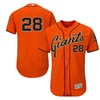 Men's Giants Buster Posey Alternate Orange Flex Base Player Jersey