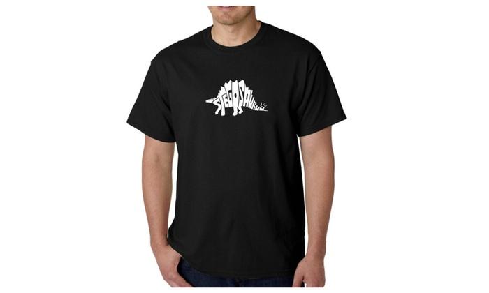 Men's T-shirt - STEGOSAURUS