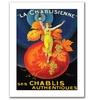 'La Chablisienne' Canvas Rolled Art