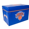 Official NBA Storage Ottoman with Lid New York Knicks