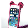 Insten Zebra Hot Pink Fox Phone Back Protector Case For iPhone 5 5s
