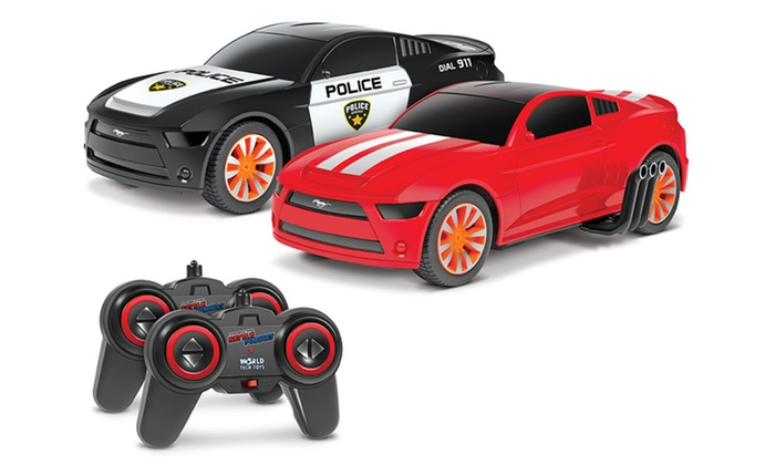 Toy Cars That Flip Over : Up to off on ford mustang rc toy cars pk