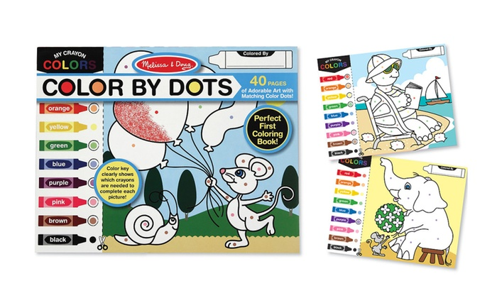 Melissa Doug Color by Dots 4006