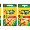 3 Pack Crayola Box of 24 Crayons Non-Toxic Coloring School Supplies