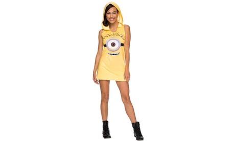 Minions Movie: Minion Hooded Tank Dress 3879bbdf-5448-476f-bdb3-0cc7a292b4f9