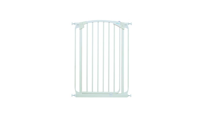 Extra Tall Swing Closed Security Gate White Groupon