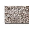 Michael Tompsett London Street Map II Canvas Print