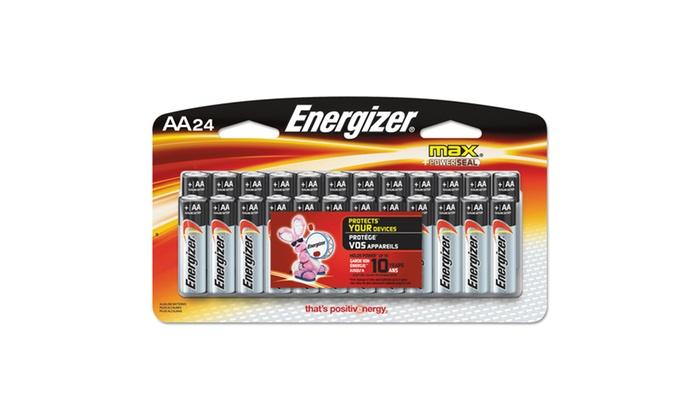 Energizer MAX Alkaline Batteries, AA, 24 BatteriesPack