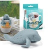 Fred and Friends Manatee Tea Infuser Loose Strainer Herbal Filter